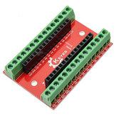 10 adet Arduino için NANO IO Kalkan Genişleme Kurulu Geekcreit-resmi Arduino panoları ile çalışan ürünler