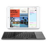 Bakeey Folded Mini BT3.0 Wireless bluetooth Keyboard with Touchpad for iPad / Mobile Phone / Tablet PC iOS Android System