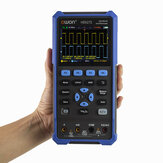 OWON® HDS200 Series 2CH Handheld Oscilloscope 40/70MHz Bandwidth 20000 Counts Multiumeter OSC + DMM + Waveform Generator 3 in 1 Suitable for  Automobile Maintenance and Power Detection