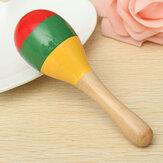 I bambini popolari del bambino suonano il regalo musicale dei giocattoli Colorful di legno musicale di crepitio del bambino