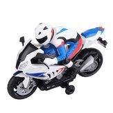 2.4Gتدوير360درجةRCسيارة دراجة نارية مركبة نموذج لعب الأطفال مع موسيقى