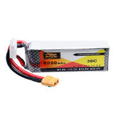 ZOP Power 11.1V 2200mAh 30C 3S LipoバッテリーXT60プラグ