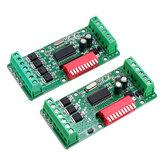 لوحة فك ترميز صغيرة 3 أو 4 قنوات LED DMX512 مع رمز سحب ثابت مراقبة ضوء شريط للمرحلة أو LED لافتات إعلانية