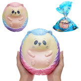 Kæmpe Hedgehog Squishy 7.87in 20 * 17 * 15cm langsomt stigende tegneserie gave samling Soft Toy With Packing