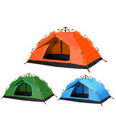 1-2 People Single Layer Full Automatic Camping Tent Folding Thick Rainproof Outdoors Hiking Travel