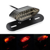 12V Motorcycle Integrated Brake Tail Light & Turn Signals License Plate Light