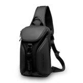 マークライデンMR7369盗難防止チェストバッグクロスボディバッグビジネスバッグUSB充電男性ハンドバッグ旅行収納バッグ