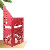 Carpinteiro de liga de alumínio 3D de 12 polegadas Régua quadrada Régua de medição de ângulo multifuncional Medidor de ferramentas de marcenaria para carpinteiros de engenheiros (sistema métrico