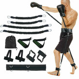 Sports Fitness Resistance Bands Set Boxing Bouncing Strength Training Equipments