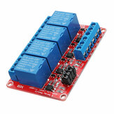 DC12V 4 Channel Level Trigger Optocoupler Relay Module Power Supply Module