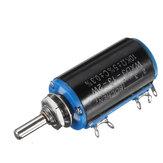 3шт WXD3-13-2W прецизионный потенциометр 10 кОм 10 кОм проволочный многооборотный потенциометр