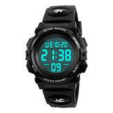SKMEI 1266 Çocuklar İzle Outdoor Spor Moda Çok İşlevli Kronograf Su Geçirmez Dijital Saat