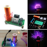 Geekcreit® DIY Mini módulo de bobina Tesla sin ensamblar Kit electrónico de altavoz de plasma de 15 W CC 15-24 V 2 A