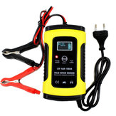 FOXSUR 12V 5A Pulse Repair LCD Battery Charger dla samochodów Motorcycle Agm Gel Wet Lead Acid Battery