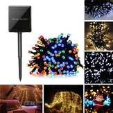 22 M op zonne-energie 8-manieren 200LED Fairy String Light Christmas Party bruiloft tuin bruiloft Decor