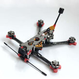 170mm 4 Inch 3mm Bottom Plate Carbon Fiber Frame Kit for RC FPV Racing Drone Support CADDX VISTA