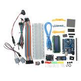 UNO R3 Zestawy startowe 1602 LCD L293D Matryca LED silnika MB102 Płytka prototypowa