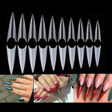 600 Pcs Long Stiletto Artificial False Nail Tips