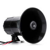 400W Warning Alarm Police Fire Siren Horn PA Speaker MIC System 3 Sound Loud
