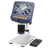 Andonstar AD106 Microscopio digital 4.3 Inch 1080P Con HD Sensor Microscopio USB para reparación de teléfonos Sol