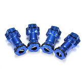 1/8 Alliage d'aluminium 17mm Wheel Hex Hub Adapter Extension 30mm RC Car Parts Blue