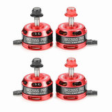 4X Racerstar Racing Edition 2205 BR2205S PRO 2600KV 2-4S Brushless Motor For X210 X220 250 RC Drone FPV Racing