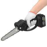 66'' Mini Rechargable Electric Chain Saw Cordless One-handed Lithium Electric Saws Pruning Shears Cutter Adapted To Makita Battery