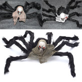 Halloween Party Decoration Esqueleto Ghosthead Spider Horrid Scare Scene Toys