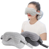 IPRee® 2-in-1 Sleeping Eye Mask Eyeshade Cover Shade U-shaped Travel Office Neck Support Pillow
