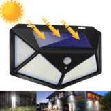 1/2/4Pcs ARILUX 180LED Outdoor Solar Powered Wall Lamps PIR Motion Sensor Garden Security Solar Lights Waterproof