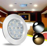 DC12V 3W 12 LED Spot Cabinet Light Lampa wnętrza do transportera Van Boat Car RV