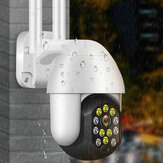 Drahtlose IP66 Kamera Wifi 1080P Sicherheit Nachtsicht im Freien 12 LED Überwachung