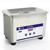 Líquido de limpeza ultra-sônico comercial da capacidade de 35W 800ml para os relógios de limpeza dos monóculos Relógios ultra-sônicos aquecidos Controle de Digitas do líquido de limpeza