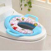Higiénico suave del bebé asiento de entrenamiento del niño Amortiguador bacinica urinario almohadilla de esponja desarrollar la independencia