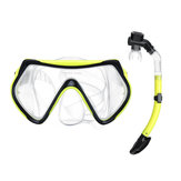 Diving Mask Glasses & Breath Tube Underwater Sea