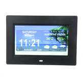 7 inch WiFi Digital Photo Frames Alarm Clock Time Date Month Year Weather Forecast Clock