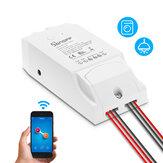 SONOFF® двухканальный DIY WIFI беспроводной пульт дистанционного управления APP переключатель разъем AC 90-250V для интеллектуального дома