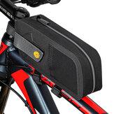 WEST BIKING 1.5L Torba na przednią ramę roweru Wodoodporna torba na rower Torba rowerowa na kierownicę do roweru szosowego MTB