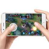 Bakeey Electroplate Mobile Phone Gamepad Joystick Game Controller For Smart Phone Tablet