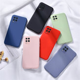 Bakeey for Xiaomi Mi 10 Lite Case Smooth Shockproof Soft Liquid Silicone Rubber Back Cover Protective Case Non-original