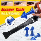 Silicone Sealant Tool Caulk Remover Shovel Scraper Grouting Mastic Finishing Set
