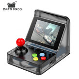 DATA FROG 32 Bit Built-in 520 Games Retro Arcade Mini Handheld Video Game Console with 3.0 Inch LCD Screen
