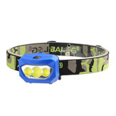 XANES® BL-933 600LM 3xCOB يؤدى 2 Bicycle Bicycle Head ضوء ضد للماء Headlamp