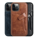 Nillkin for iPhone 12 Mini Case Business with Card Slot Holder Shockproof Leather Protective Case