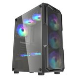 DarkFlash Aquarius Mesh Gaming Computer Case Chassis ATX / M-ATX / ITX Suppored Glass Trempé