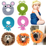 Hand-knitted Wool Decor Case For Camera Lens Decorative Photo Guide Doll Toys For Kids