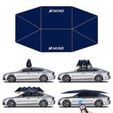 Xmund 65x86inch Automatische Auto Paraplu Cover Tent Opvouwbare Afstandsbediening Anti-Uv Auto Zonnescherm Waterdichte Carport Luifel Cover voor Outdoor Camping Reizen