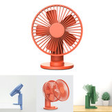 VH F04 2 In 1 Clip-on Table Desktop USB Fan 90° Rotatable 3 Modes Wind Speed Cooling Fan Outdoor Travel from xiaomi youpin