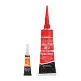 VISBELLA 85g High Temperature Silicone Sealant Rubber Moisture Proof Glue for Car Engine
