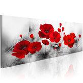 Flores abstractas lienzo pintura pared impresión decorativa imagen artística sin marco decoración de la oficina en casa
